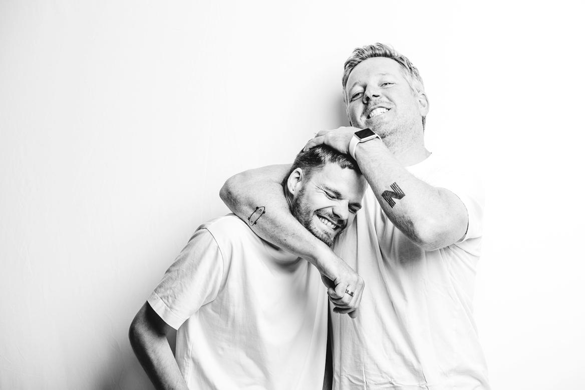 Steven en Niels