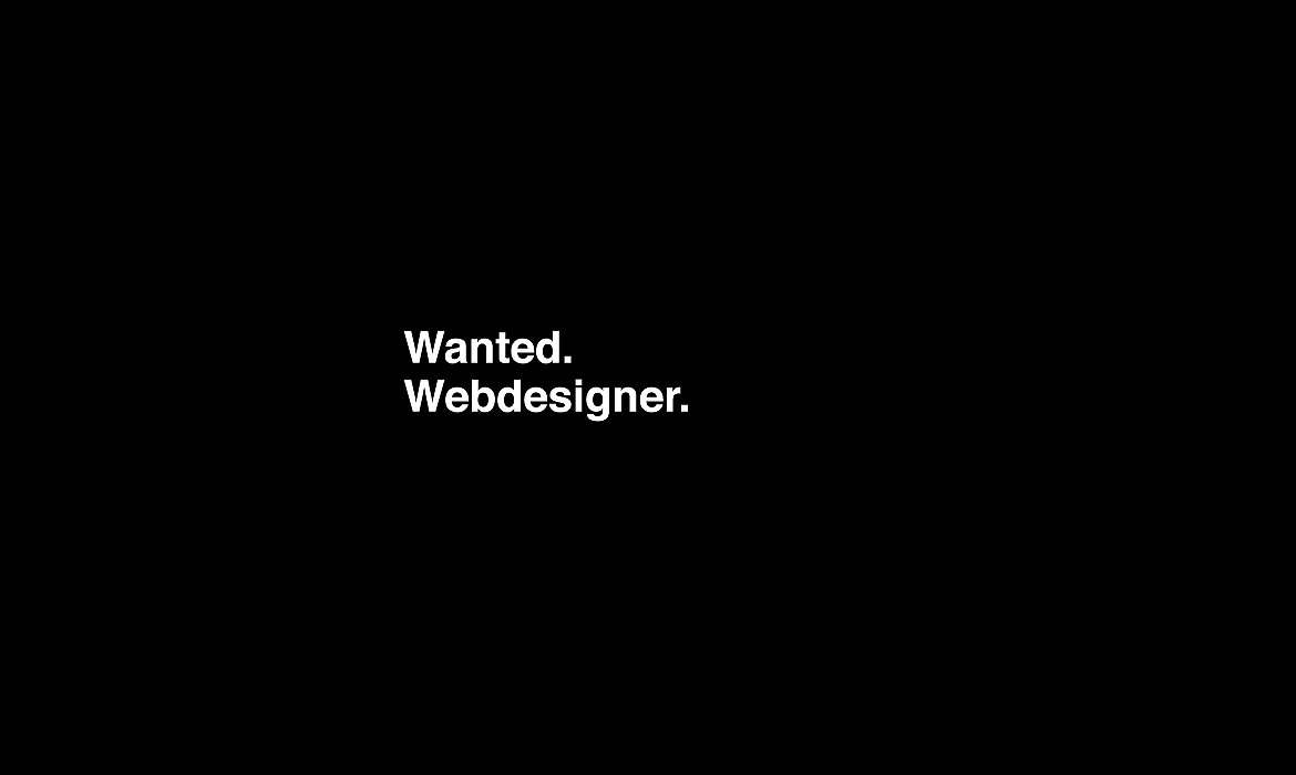 Wanted Webdesigner